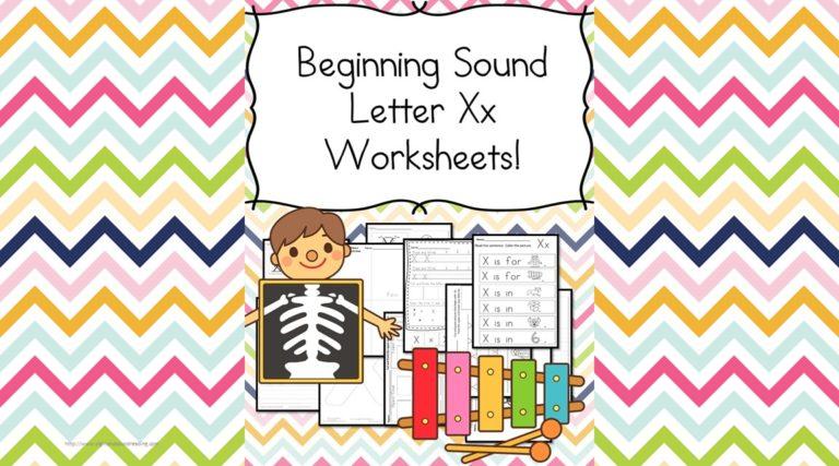 18 Free Beginning Sound Letter X Worksheets – Easy Download!