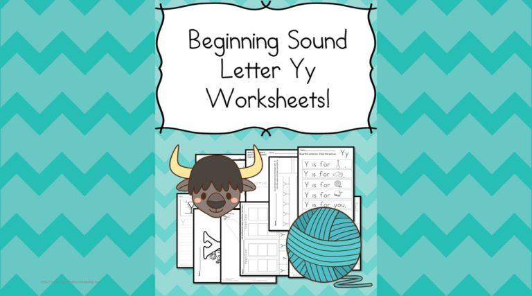 18 Free Beginning Sound Letter Y Worksheets – Easy Download!