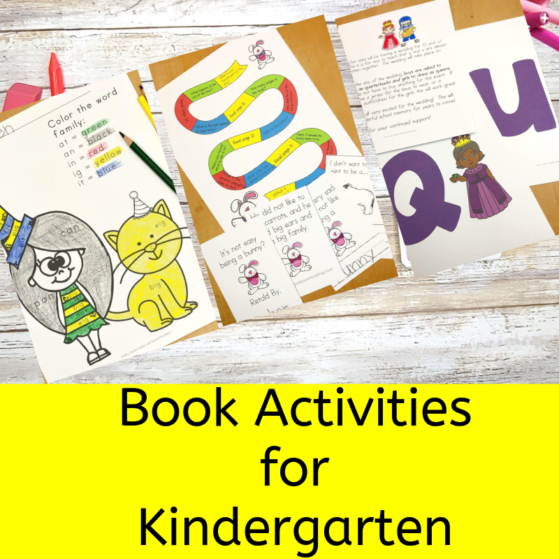 Book Activities for Kindergarten