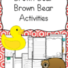 Brown Bear, Brown Bear Lesson Plans