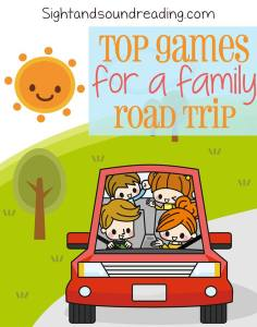Car Game for Trips! Fun games to play while on the road.