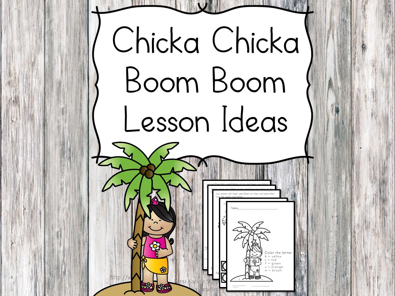 Chicka Chicka Boom Boom Lesson - photo#14