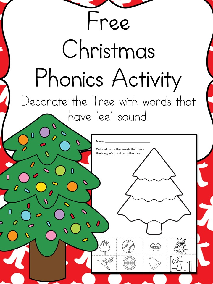 christmas word family worksheet make learning fun. Black Bedroom Furniture Sets. Home Design Ideas