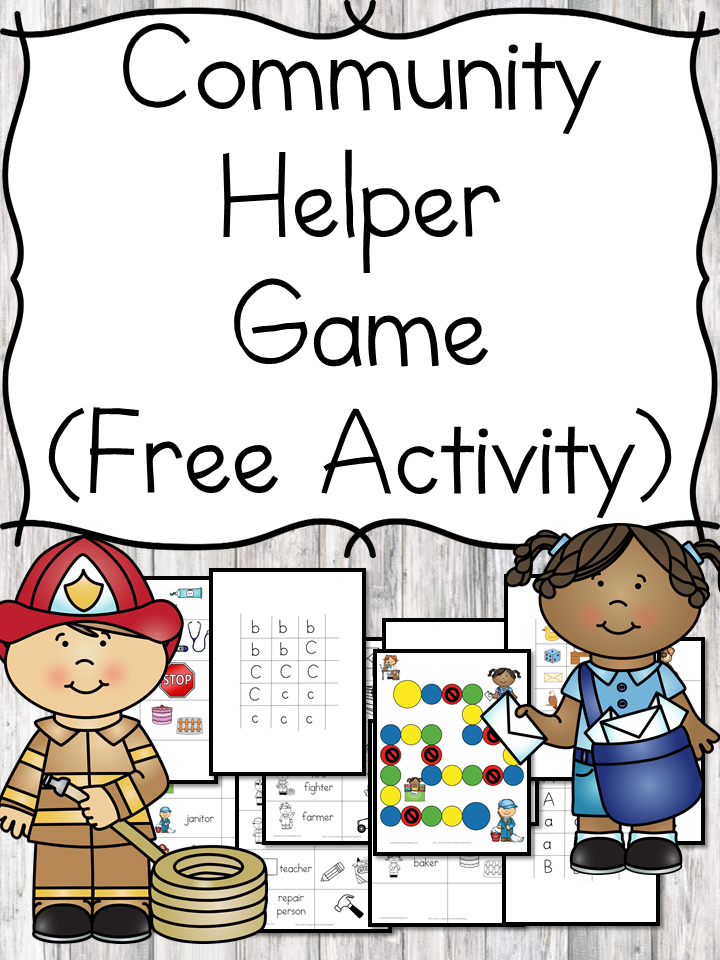 Community Helper Game And Lesson Ideas For Kindergarten