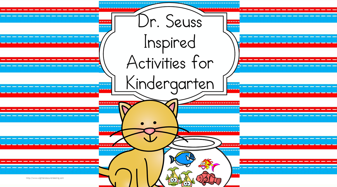 dr seuss activities for kindergarten make learning fun what pet should i get activities