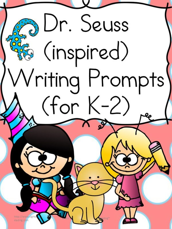 These Dr. Seuss Writing Prompts will have your students `thinking and writing Seuss! Great for Kindergarten or 1st Grade!