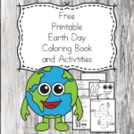 Awesome Earth Day Printable Coloring Book for Kids
