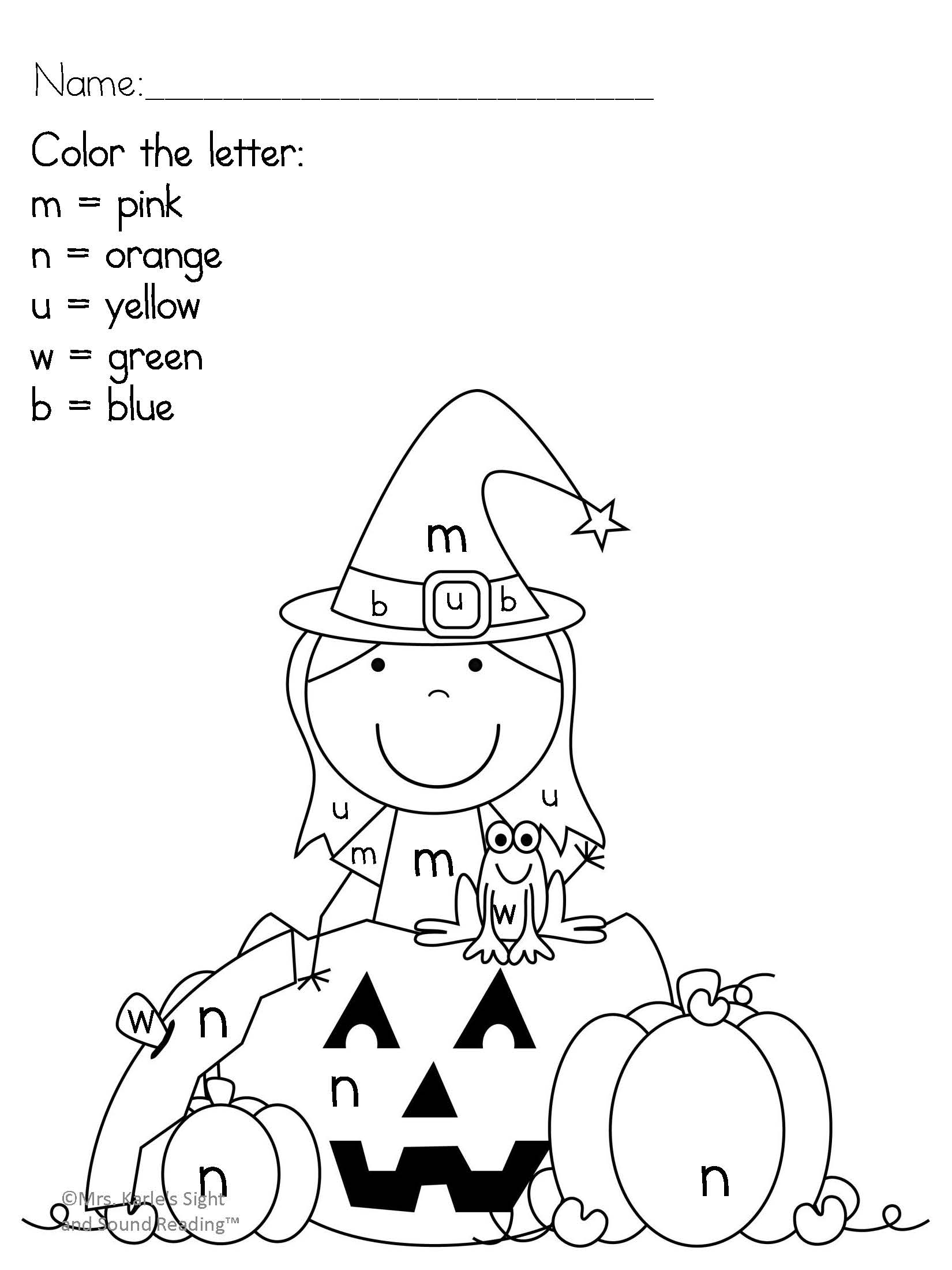 Kindergarten Activity Pack for