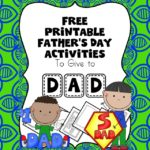 Fathers Day Worksheets for Kids. Help children make some fun little pictures for dad this father's day. Make dad smile with father's Day fun!