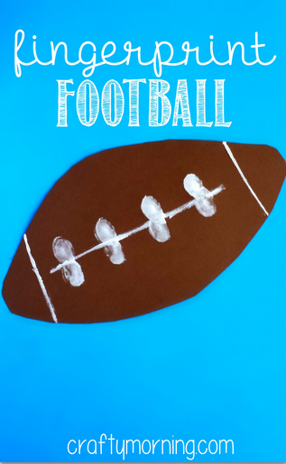 Kindergarten Football Crafts