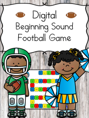 Beginning Sound Kindergarten football game