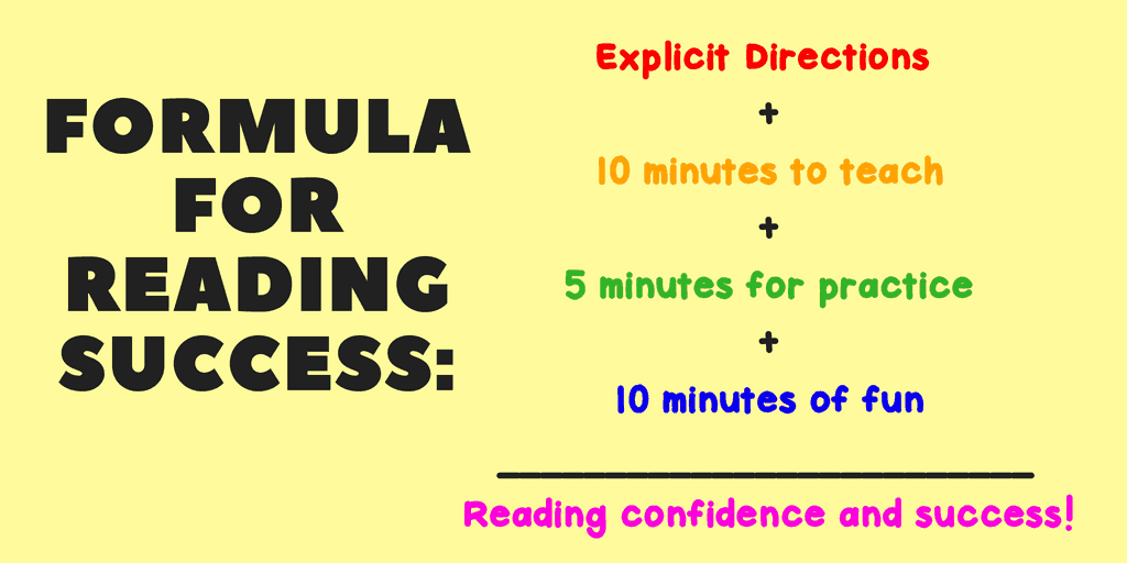 Formula for Reading Success