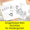 Gingerbread Man Literacy Activities (Editable)