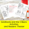 Goldilocks and the 3 Bears Readers Theater