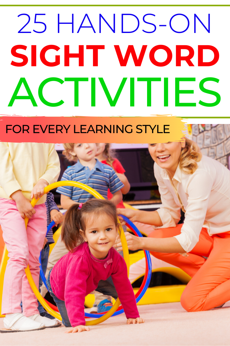 Hands On Sight Word Activities