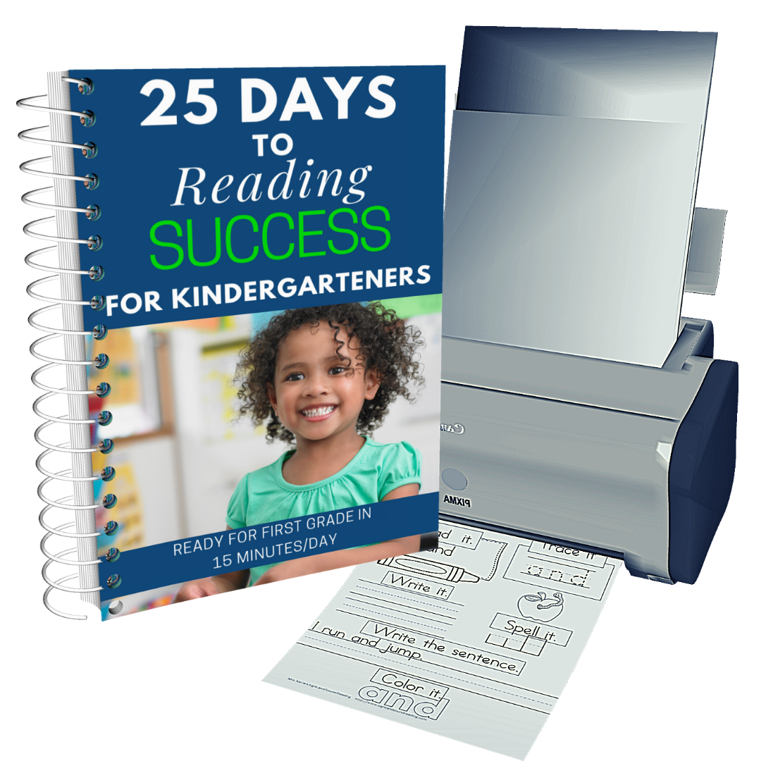 25 Days to Reading Success with 600 free downloads