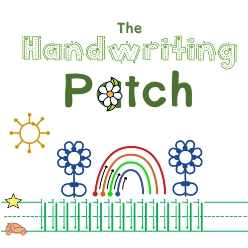 Handwriting Patch Logo