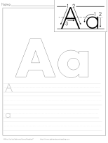 Handwriting Practice Printables