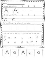 Handwriting Printable Worksheets