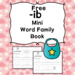 Teach the ib word family using these ib cvc word family worksheets. Students make a mini-book with different words that end in 'ib'. Cut/Paste/Tracing Fun