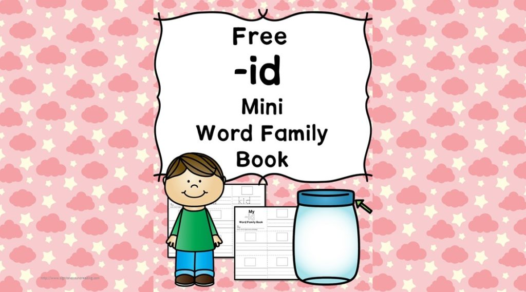 Teach the id word family using these id cvc word family worksheets. Students make a mini-book with different words that end in 'id'. Cut/Paste/Tracing Fun