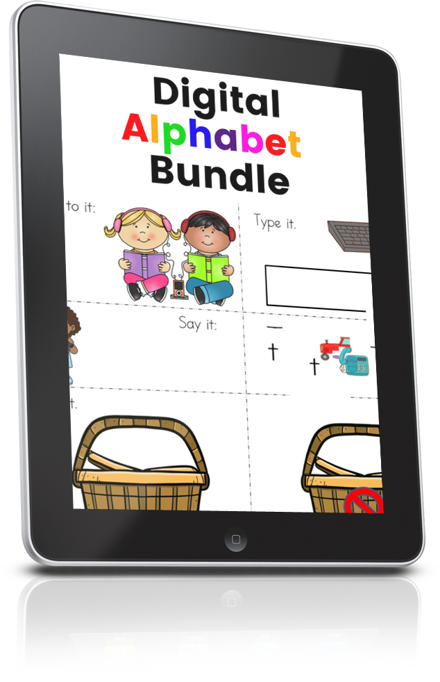 Digital Alphabet Bundle