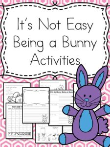 It's not easy being a bunny lesson pack.