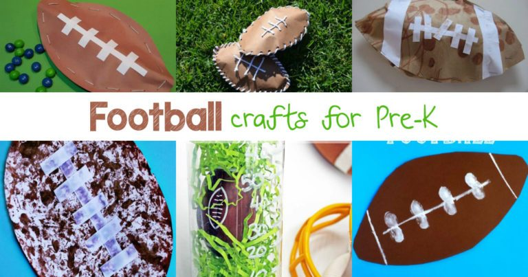 Kindergarten Football Crafts