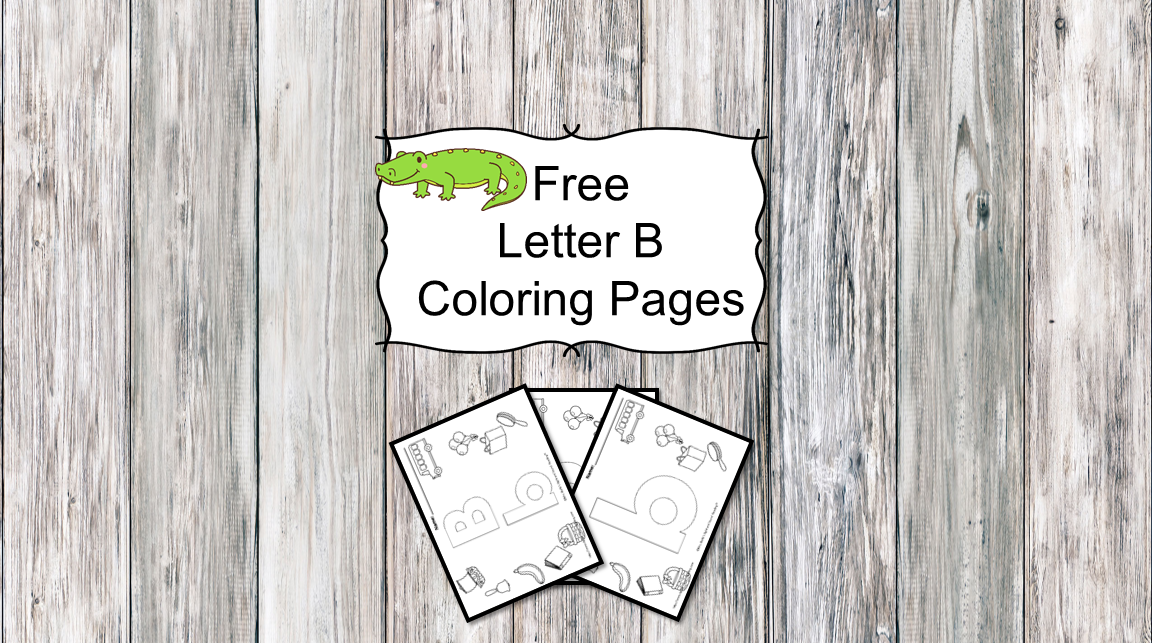 3 Letter B Coloring Pages Easy Download