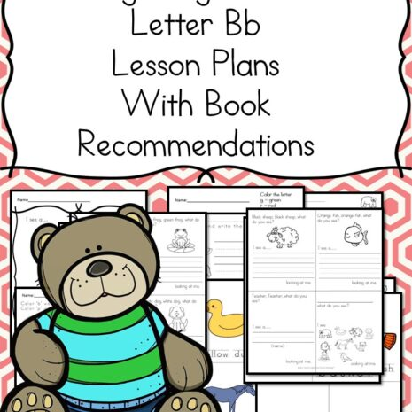 Lwtter B Lesson - Fun activities to teach the letter B