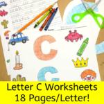 Letter C Worksheets for Kindergarten