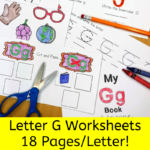 Letter G Worksheets for Kindergarten