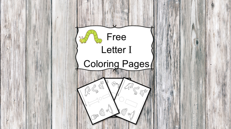 3 Letter I Coloring Pages – Easy Download!