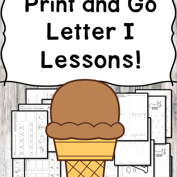 This file includes everything you need to teach the letter I Lesson: the book list recommendation, worksheets, mini books, and activities.