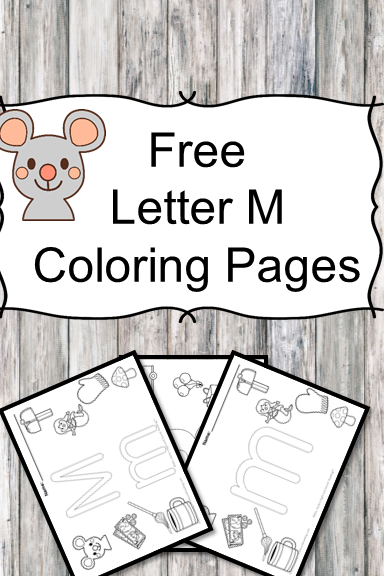 Letter m coloring pages for Letter m coloring pages preschool