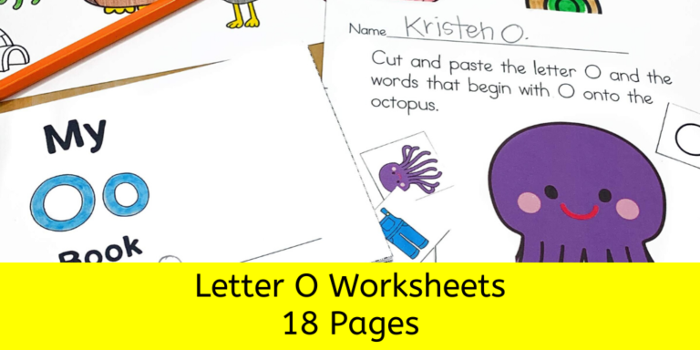 18 Free Beginning Sounds O Worksheets -Easy Download!