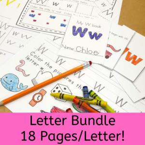 Letter o f the Week Bundle