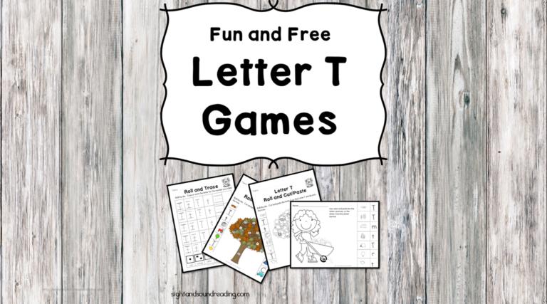 Letter T Games