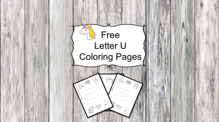 3 Letter U Coloring Pages – Easy Download!
