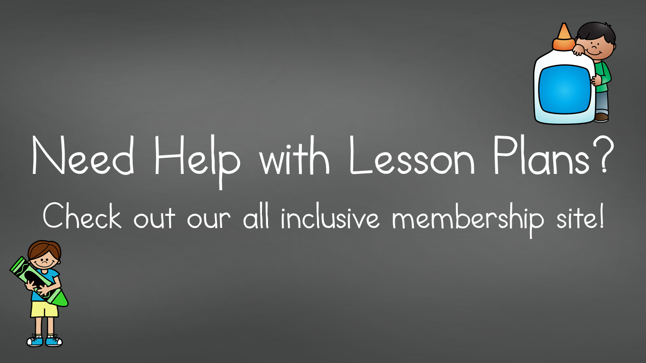 Need help with Kindergarten lesson plans? Check out our all inclusive membership site!