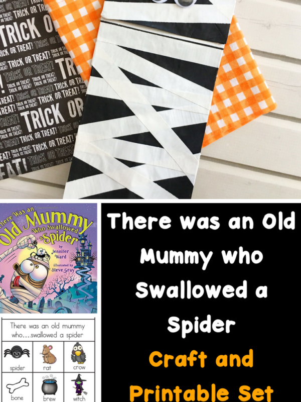 Cute, easy and fun mummy craft for preschool or kindergarten. Fun activity to go along with a mummy themed book.