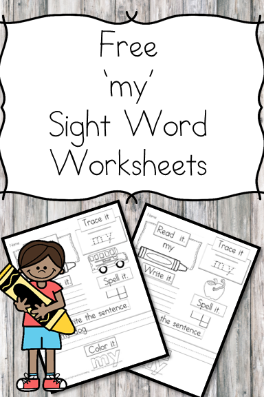 My Sight Word Practice Worksheet Free And Easy Download