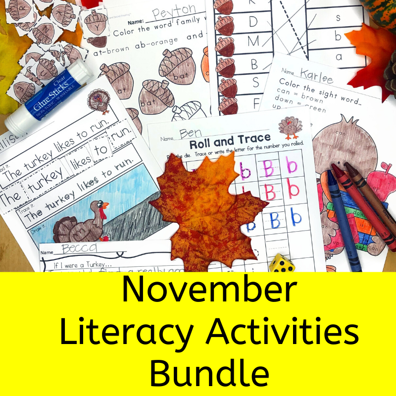 November Literacy Bundle