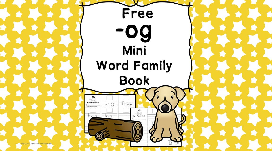 og cvc word family worksheets make a word family book. Black Bedroom Furniture Sets. Home Design Ideas