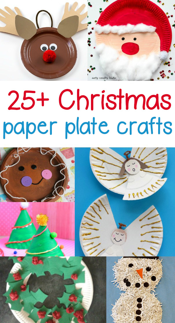 Paper Plate Christmas Crafts  sc 1 st  Sight and Sound Reading & Paper Plate Christmas Crafts |