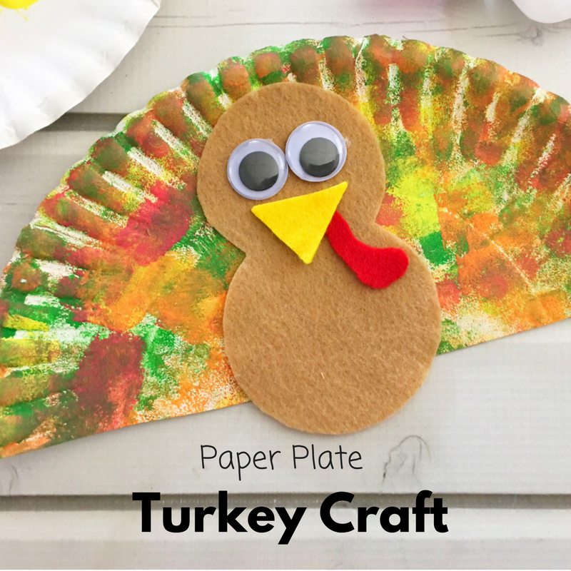Make learning fun with this cute Paper Plate Turkey Craft. It is super easy to make and super cute to display!