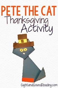 Thankgiving Cat Craft