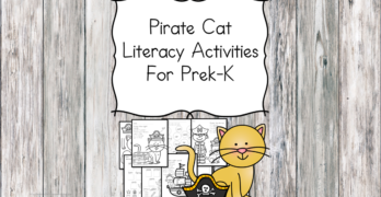 Pirate Cat Literacy Activities