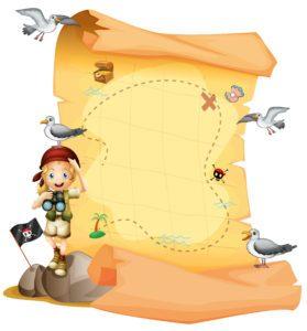 Pirate Map for a pirate adventure!