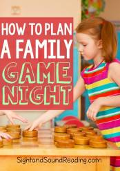 Plan a Family Fun Game Night
